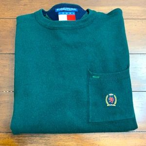 Vintage Tommy Hilfiger 90s Lambswool Sweater